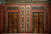 Germany, Berlin, Pergamon Museum, the Aleppo Room, wall panelling