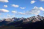 Canada, Alberta, Banff National Park, Sundance Range, Rocky Mountains