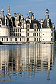 France, Centre Val de Loire, Loir et Cher (41), Chambord castle and canal