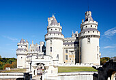 France, Picardie, Oise, Pierrefonds castle