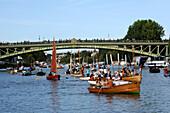 France, Pays de la Loire, Loire-Atlantique, Nantes, waters sports festival