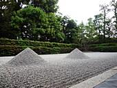 JAPON, KYOTO, Daisen In temple stone garden