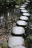 JAPON, KYOTO, Tenjuan wet garden in Nanzen Ji temple