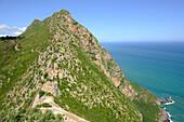 Algeria, Kabylia, Bejaya, cap Carbon