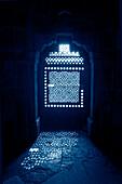 Light Reflecting Through Ornate Door, Humayun's Tomb, Delhi, India