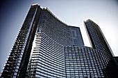 Tall Buildings, Low Angle View, CityCenter, Las Vegas, Nevada, USA