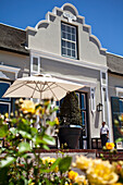 Entrance to Restaurant Bosmans and hotel Grande Roche Hotel, Paarl, Cape Town, Western Cape, South Africa, RSA, Africa
