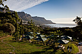Picnic Ground of Restaurant Roundhouse, Camps Bay, Cape Town, Western Cape, South Africa