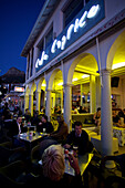 Eating-out on Victoria Road at Camps Bay, Cape Town, Western Cape, South Africa, RSA, Africa