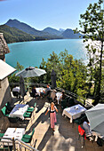Castle hotel Fuschl, lake Fuschl, Salzburg-land, Austria