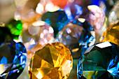Gems at Russian market, close-up, Phnom Penh, Cambodia, Asia