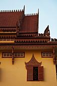 Ornate buildings at Wat Bo Temple, Siem Reap, Cambodia