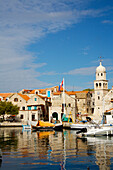 Townscape with harbour, NULL