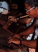 Rolling Havana cigars, Havana, Cuba.