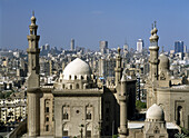 Mosque of Sultan Hassan and Rifai Mosque, Cairo, Egypt