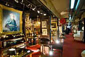 Antique shop interior, NULL