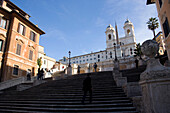 Piazza Spagna in Rome, Rome, Italy