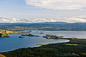 View on Lake Sentani, Jayapura, West Papua, Indonesia