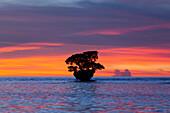 Sunset at Cenderawasih Bay, Cenderawasih Bay, West Papua, Indonesia