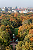Tiergarten in autumn, Bismarck Memorial, Berlin Moabit, Berlin center, Berlin, Germany, Europe