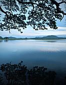 Artificial lake Tissa Wewa morning, Tissamaharama, around Yala National Park, Sri Lanka