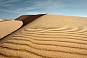 Untouched sand dune, White Sand Dunes of Mui Ne, Binh Thuan, Vietnam