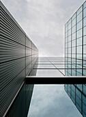 Moderne Gebäude, Architektur in New London, City of London, England, UK
