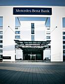 Mercedes Benz bank from architect Zilz Partner, Pragsattel, Stuttgart, Baden-Wuerttemberg, Germany