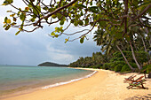 Sandy beach at the west coast of Koh Samui Island, Surat Thani Province, Thailand, Asia