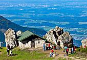 Steinling Alm, Kampenwand, Chiemgau, Upper Bavaria, Germany