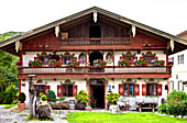 Altes Bauernhaus, Törwang, Samerberg, Chiemgau, Oberbayern, Bayern, Deutschland