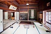 Kawasaki City-Minka-en Park-Japan Open-air Folk House Museum-Hara House.