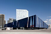 Spain-Catalunya region-Barcelona City-Diagonal Mar District-Water front-The Barcelona Forum