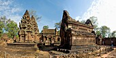 Cambodia-No  2009 Siem Reap City Angkor Temples W H  Banteay Srei Temple.