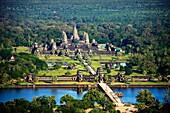 Cambodia-No  2009 Siem Reap City Angkor Temples W H  Angkor Wat Temple.