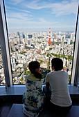 Tokyo City View, Roppongi Hills Mori Tower, Tokyo, Japan.