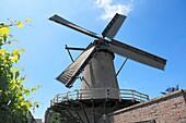 Germany, Xanten, Rhine, Lower Rhine, North Rhine-Westphalia, NRW, city fortification, town wall, Kriemhild mill, windmill, Middle Ages