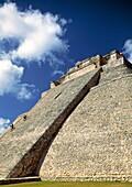 Uxmal pre-Columbian ruined city of the Maya civilization, Yucatan, Mexico