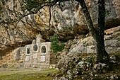 Mystery of joy, Mysteries of the Rosary Shrine Pujol dels LLuc misteris Escorca Sierra de Tramuntana Majorca Balearic Islands Spain