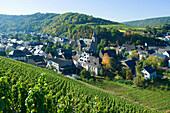 View at Dhron, Neumagen Dhron, Rhineland Palatinate, Germany