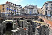 Anfiteatro Romano, Catania, eastcoast, Sicily, Italy
