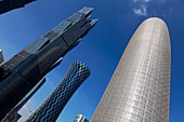 Jean Nouvel's High Rise Office Building and Tornado Tower in Doha, Qatar