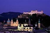 Austria, buildings, city, Europe, lights, night, Sa. Austria, Buildings, City, Europe, Holiday, Landmark, Lights, Night, Salzburg, Skyline, Tourism, Travel, Vacation