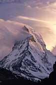 challenge, clouds, cold, Matterhorn, mountain, sky, . Challenge, Clouds, Cold, Holiday, Landmark, Matterhorn, Mountain, Sky, Snow, Switzerland, Europe, Tourism, Travel, Vacation