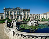 baroque, fountain, monument, national, neo classici. Baroque, Classicism, Fountain, Holiday, Landmark, Monument, National, Neo, Palace, Portugal, Europe, Queluz, Rococo, Statues, To