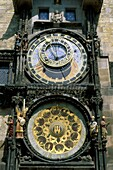 astronomical, clock, Czech, dial, figures, hall, me. Astronomical, Clock, Czech, Dial, Figures, Hall, Holiday, Landmark, Metal, Old, Parts, Prague, Republic, Sculpture, Statue, Time