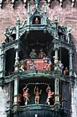 carving, chime, chiming, clock, cuckoo, detail, fig. Carving, Chime, Chiming, Clock, Cuckoo, Detail, Figures, Figurines, Germany, Europe, Glockenspiel, Holiday, Intricate, Landmark