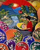artisan, Asia, Asian, Chiang Mai, crafts, outdoors, . Artisan, Asia, Asian, Chiang mai, Crafts, Holiday, Landmark, Outdoors, People, Thailand, Tourism, Travel, Umbrella, Vacation, Wo