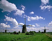 agriculture, clouds, Kinderdijk, Netherlands, pictu. Agriculture, Clouds, Holiday, Kinderdijk, Landmark, Netherlands, Picturesque, Quaint, Sky, Tourism, Travel, Vacation, Windmills