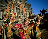 Bali, Balinese, costumes, dance, dancers, dancing, . Bali, Asia, Balinese, Costumes, Dance, Dancers, Dancing, Elaborate, Entertainers, Entertainment, Gesture, Gesturing, Group, Head